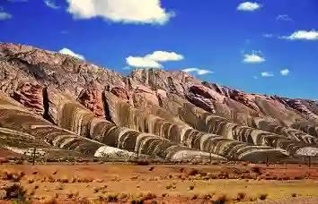 Quebrada de Humahuaca no norte da Argentina