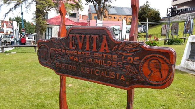 foto 18 a liderança de Evita Peron